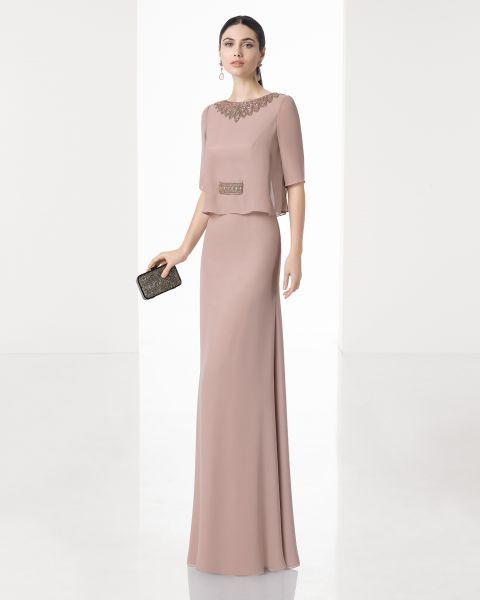 0b80668e1a180 Vestidos para la mamá del novio y la novia 2017  Los mejores diseños Image   6