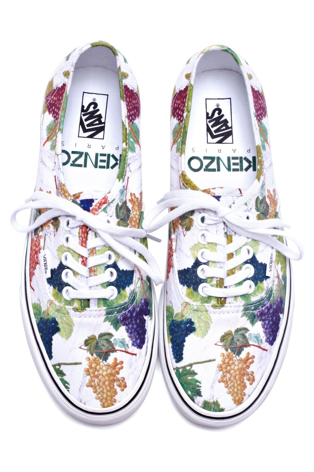 Kenzo Vans | Print sneakers, Leopard print sneakers