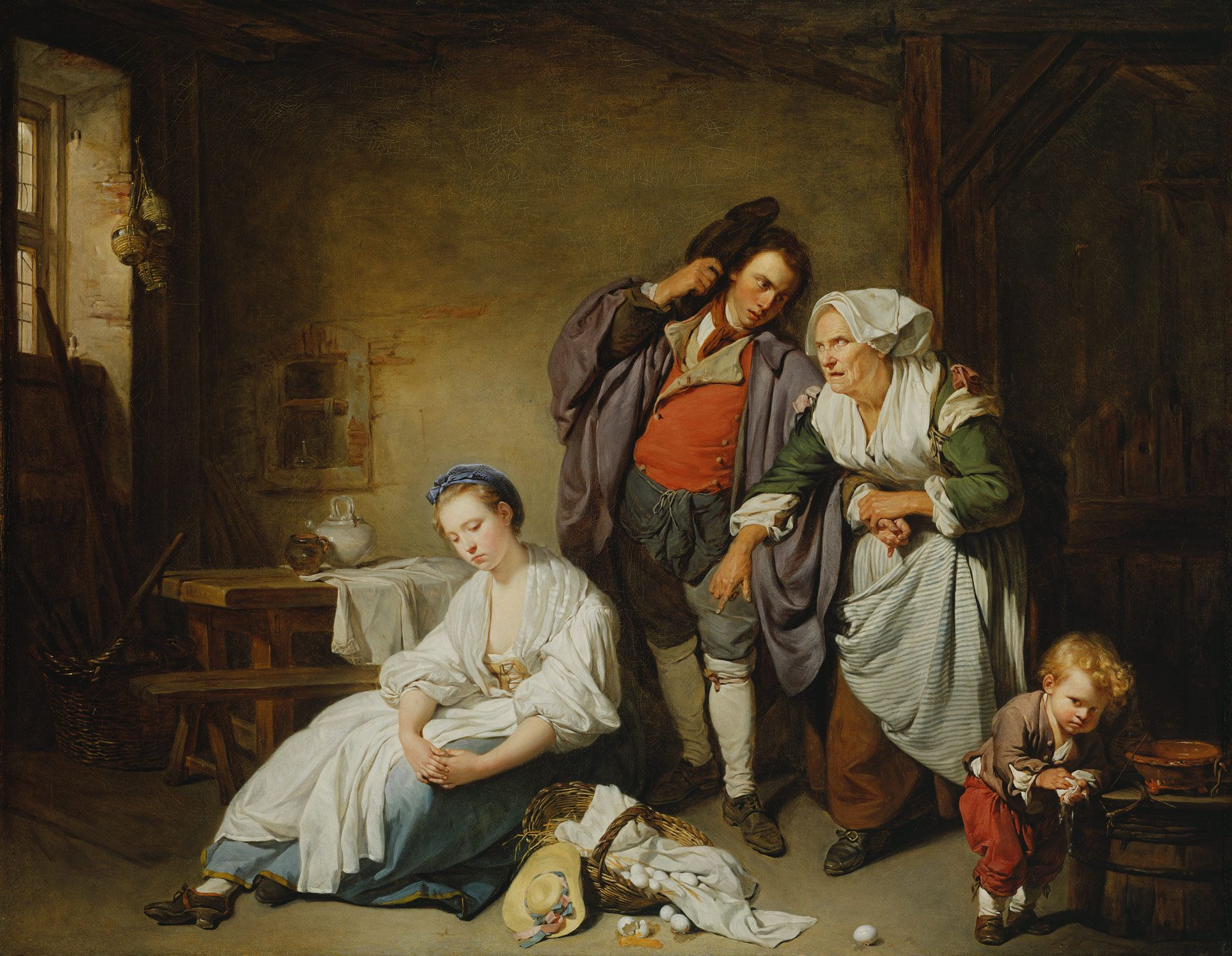 268 best 18th century women in art images on pinterest 18th broken eggs biocorpaavc Image collections