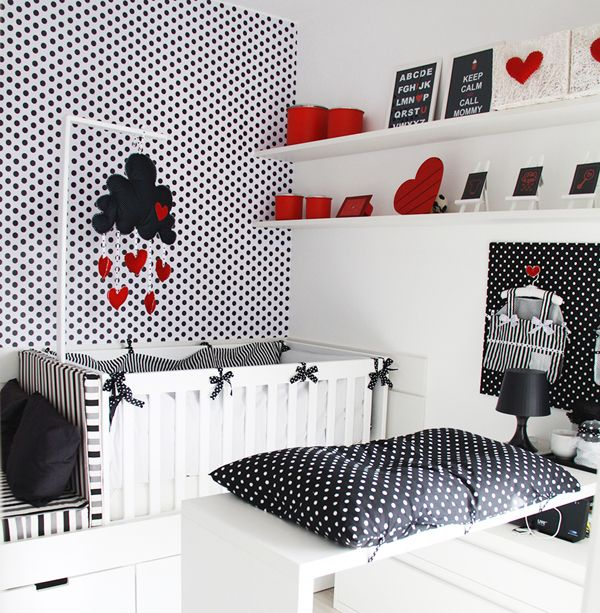 Quartos Vermelhos Pretos no Pinterest  Modern Teen Bedrooms, Red Be…