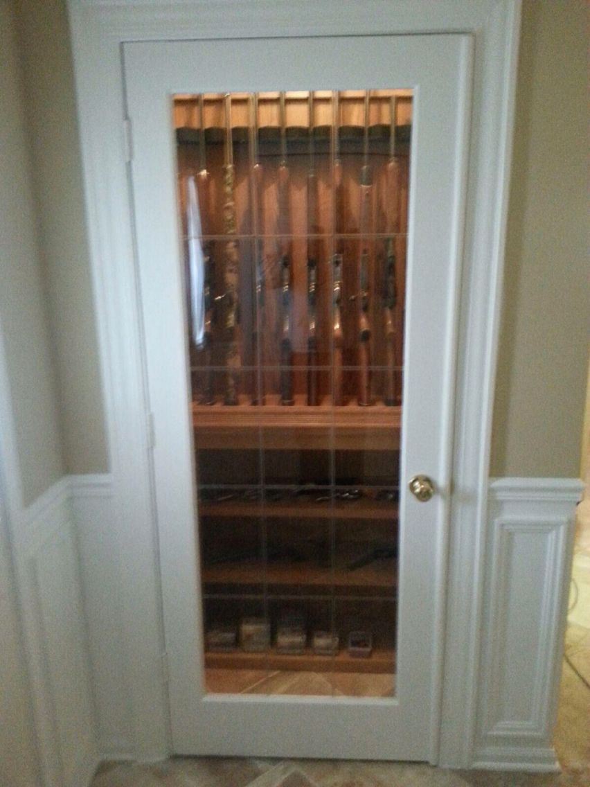 Comely Turn A Closet Into A Gun Safe Home Decor
