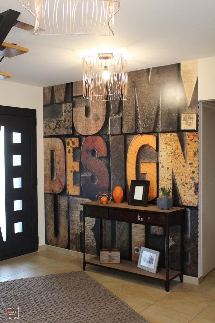 deco entree industrielle. Black Bedroom Furniture Sets. Home Design Ideas
