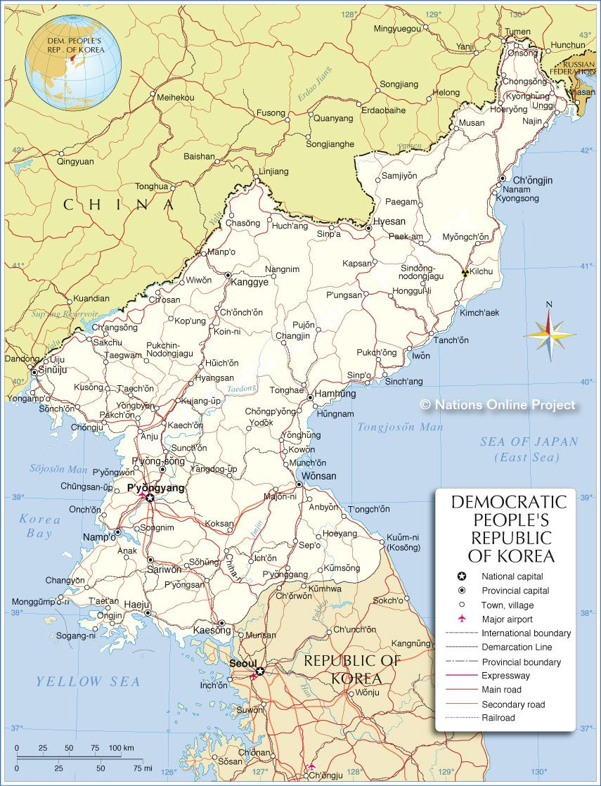 Political map of north korea maps pinterest political map of north korea gumiabroncs Images