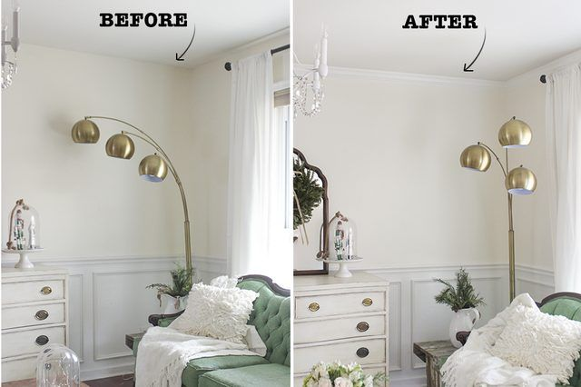 Lovely How to install crown molding easily and without error using corner angle templates Tips on Photo - Fresh crown molding joints HD