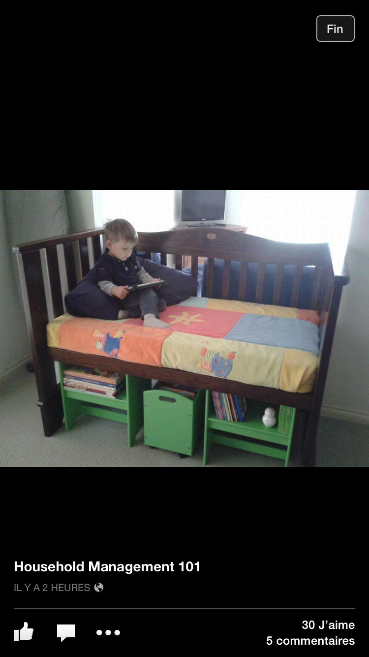 Turn crib into toddler loft bed  Pin by Minerva Bernal on diy recycling ideas for baby stuff