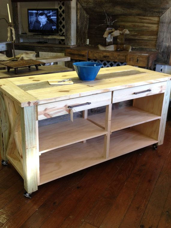Kitchen Island On Casters kitchen island on casters | kitchens, diy furniture and farmhouse