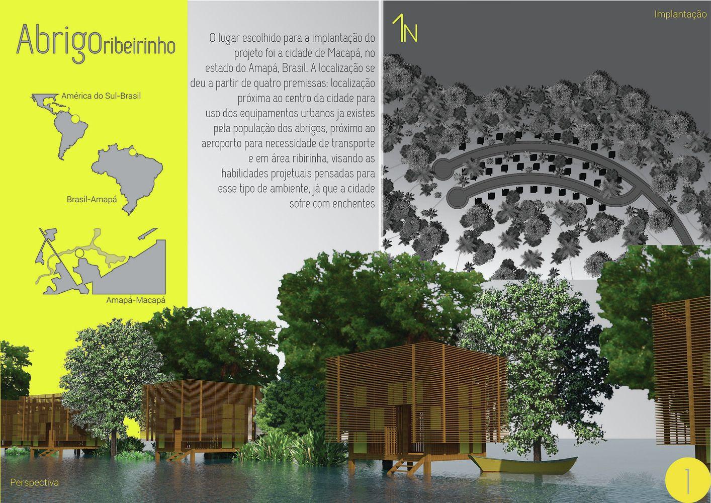 Galeria de Resultados do concurso estudantil de arquitetura bioclimática da IX Bienal José Miguel Aroztegui / Abrigos de Emergência - 23