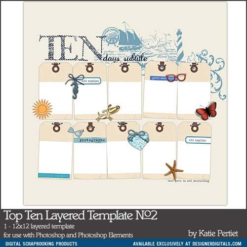 top ten layered template no 02a top ten list products pinterest