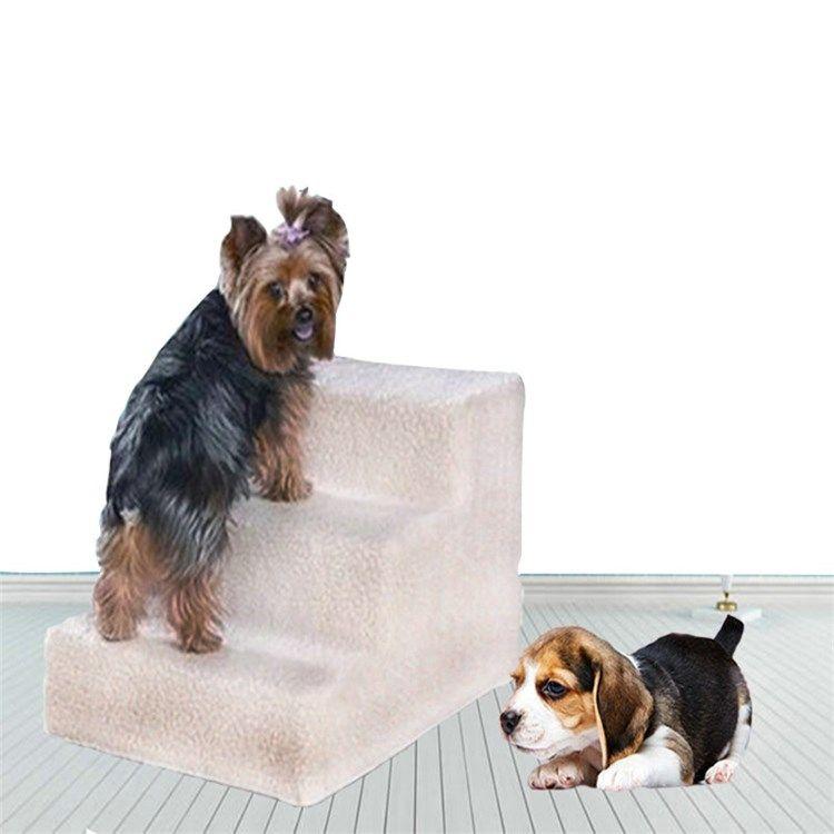 ペット用踏み台 階段 3段 ステップ ネル 洗えるカバー 子犬 老犬 胴長短足 犬猫用 子犬 犬 ペット