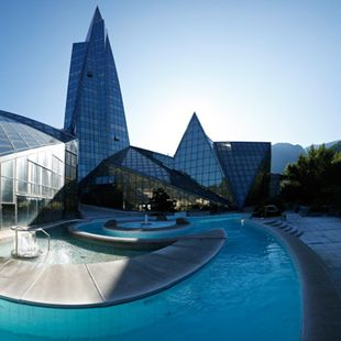 Centre Termolúdic Caldea- Europe's largest spa complex in the country of Andorra!