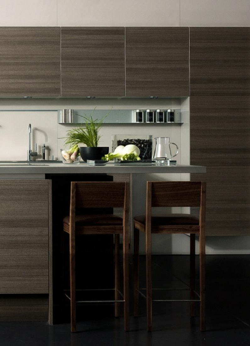 Moderne Küche mit Bar: 6 Ideen für eine Bartheke aus Holz, Stein und ...