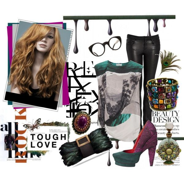 .., created by #lemoncrispy on #polyvore. #fashion #style Dries Van Noten Helmut Lang
