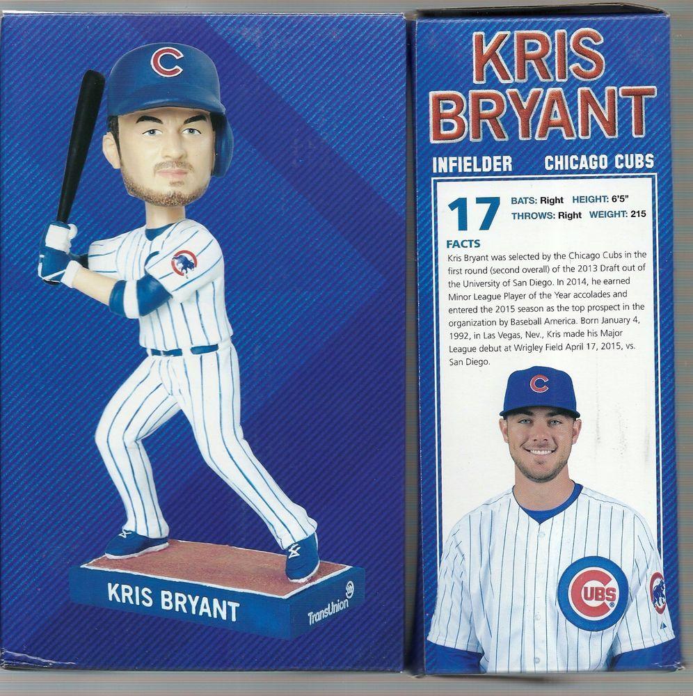 Sold Chicago Cubs Kris Bryant Sga 092615 Debut