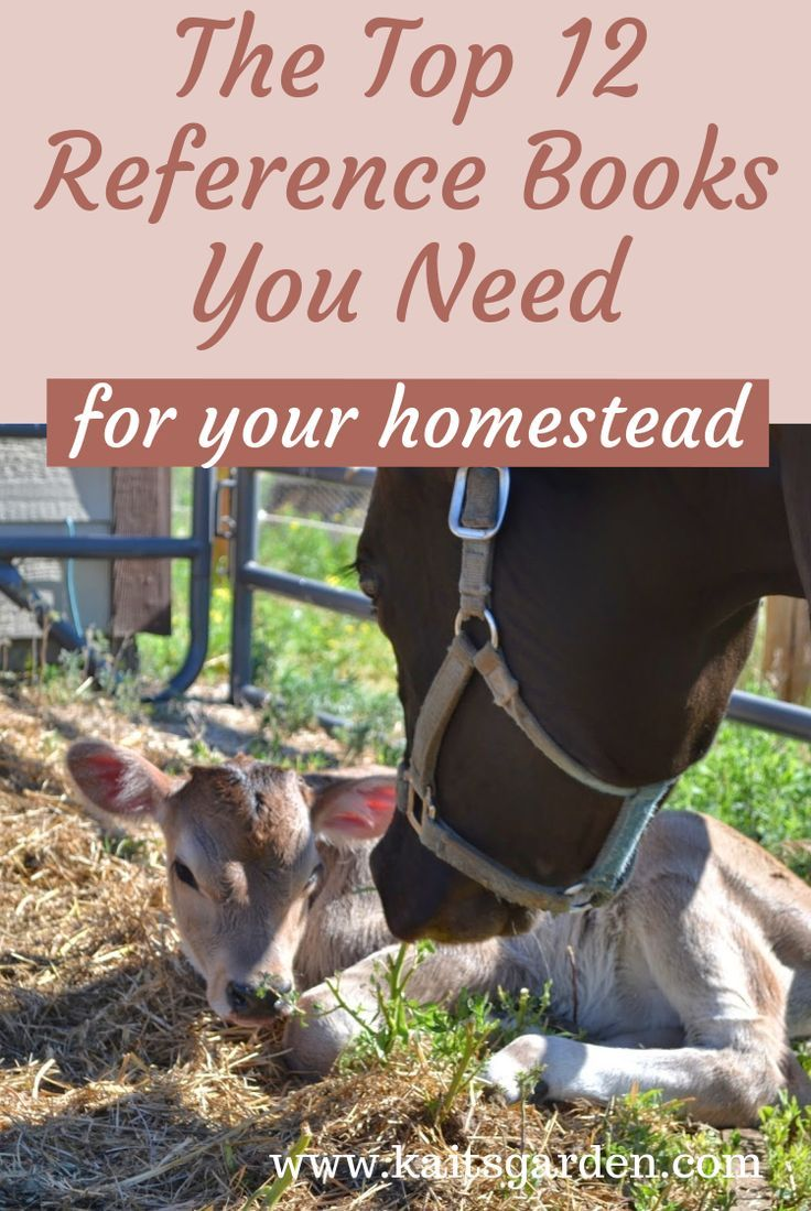 Our Top 12 Books For the Homestead | Gardening for ...