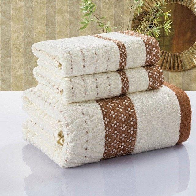 Decorative Bath Towel Sets Enchanting Soft Decorative Fashion 100% Cotton 3Pc Bath Towel Set 15 Designs