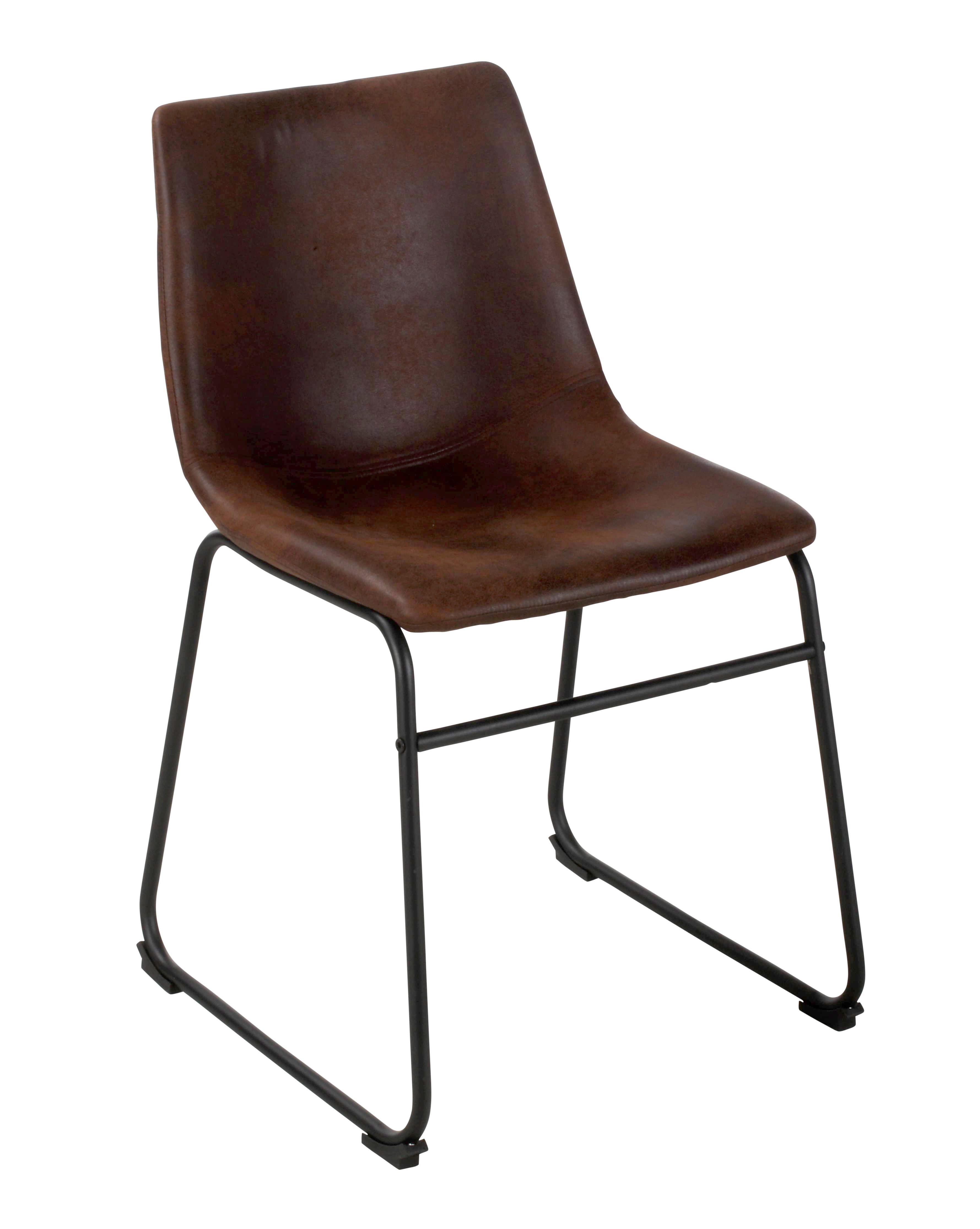Chaise Romane Marron Vintage Deco Industrielle Chaise Chaise