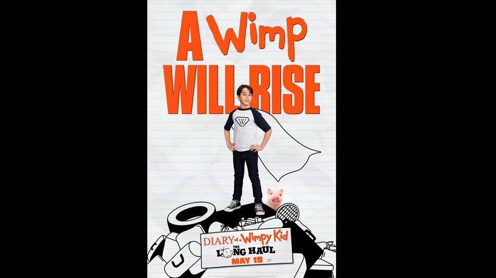 Diary of a wimpy kid the long haul movie wimpy kid