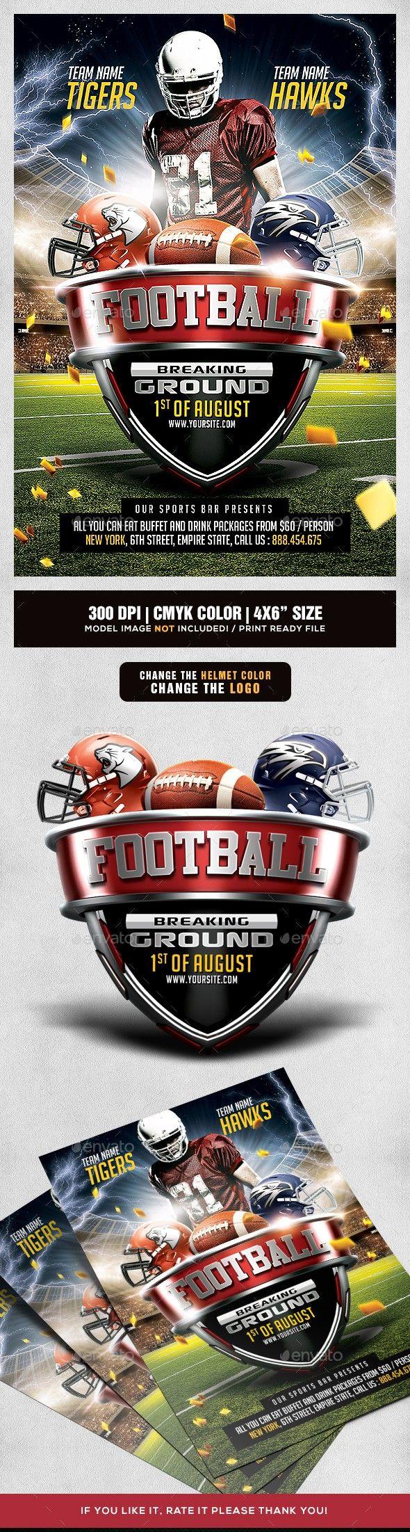 american football american football flyer college football cup