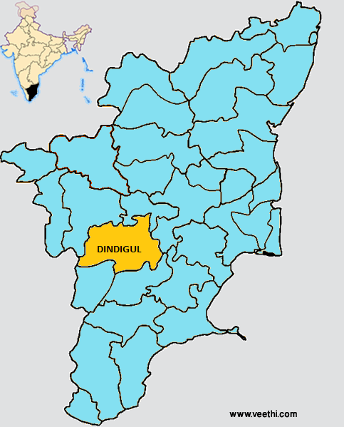 Dindigul District Map, Cool places to visit, Coimbatore