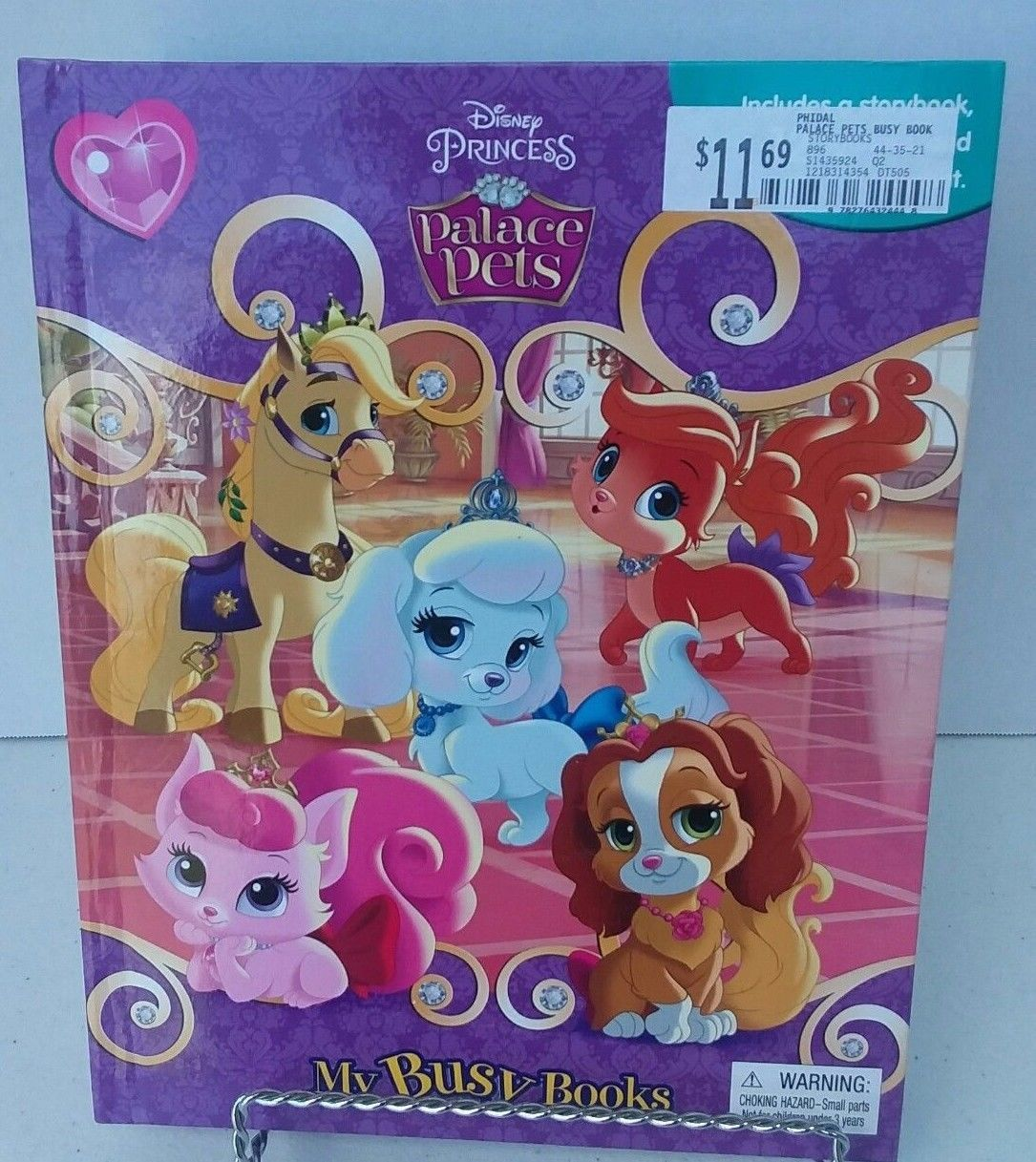 Disney Princess Storybook Palace Pets Complete Set 12 Figurines 1playmat Ages 3 Disney Princess Toys Palace Pets Storybook