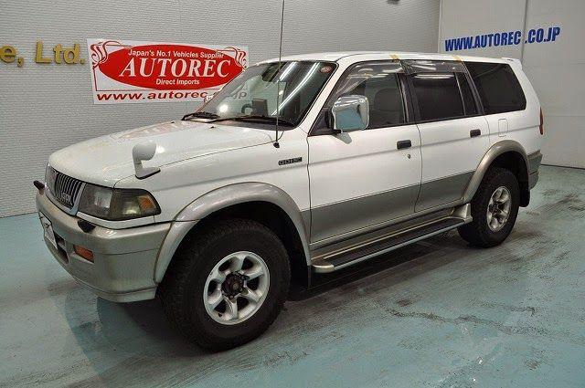 Japanese Vehicles To The World 1997 Mitsubishi Challenger X 4wd For Uganda To Mombasa Mitsubishi Challenger 4wd