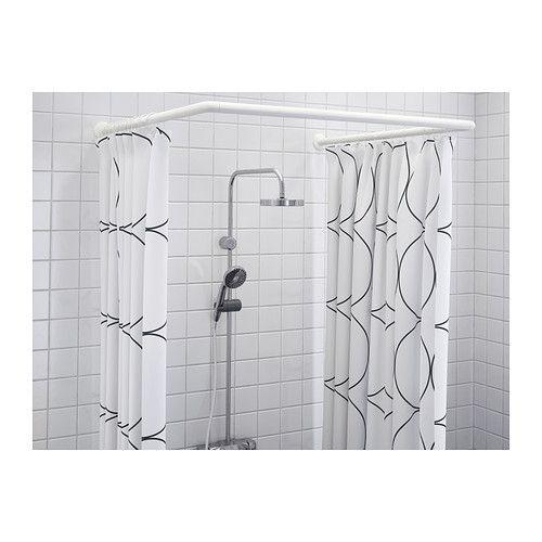 g mmaren tringle rideau douche modulable ikea pinteres. Black Bedroom Furniture Sets. Home Design Ideas