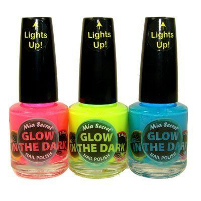 Mia Secret Glow In The Dark Neon Nail Lacquer Nail Polish 3pcs Set Neon BlueNeon Hot Pink Neon Yellow  05 oz bottles >>> Continue to the product at the image link.Note:It is affiliate link to Amazon.