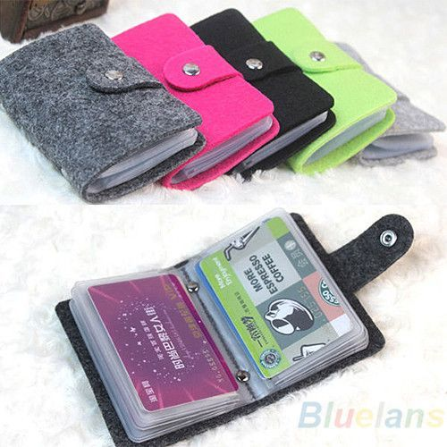 Organizer Pouch Case Wallet Cash Pocket Id Credit Card Holder