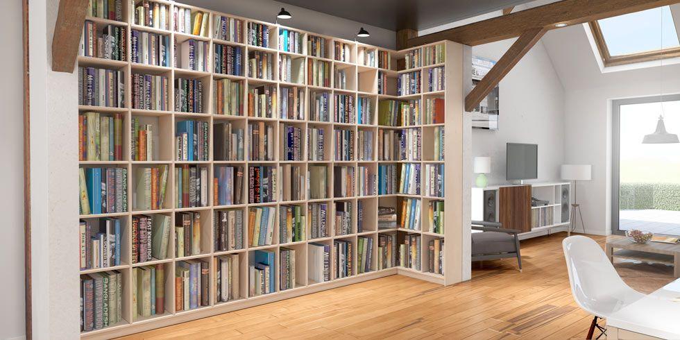 Bibliotheken Nach Mass Massivholz Oder Mdf Qualitat Und