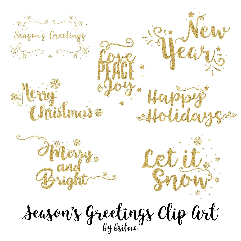 29+ Seasons greetings design clipart ideas