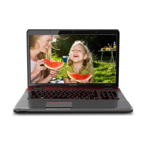 Toshiba Qosmio X775 Q7384 17 3 Inch Gaming Laptop Fusion X2 Finish In Red Horizon Really Love It Http Amzn To With Images Gaming Laptops Laptop Toshiba Toshiba