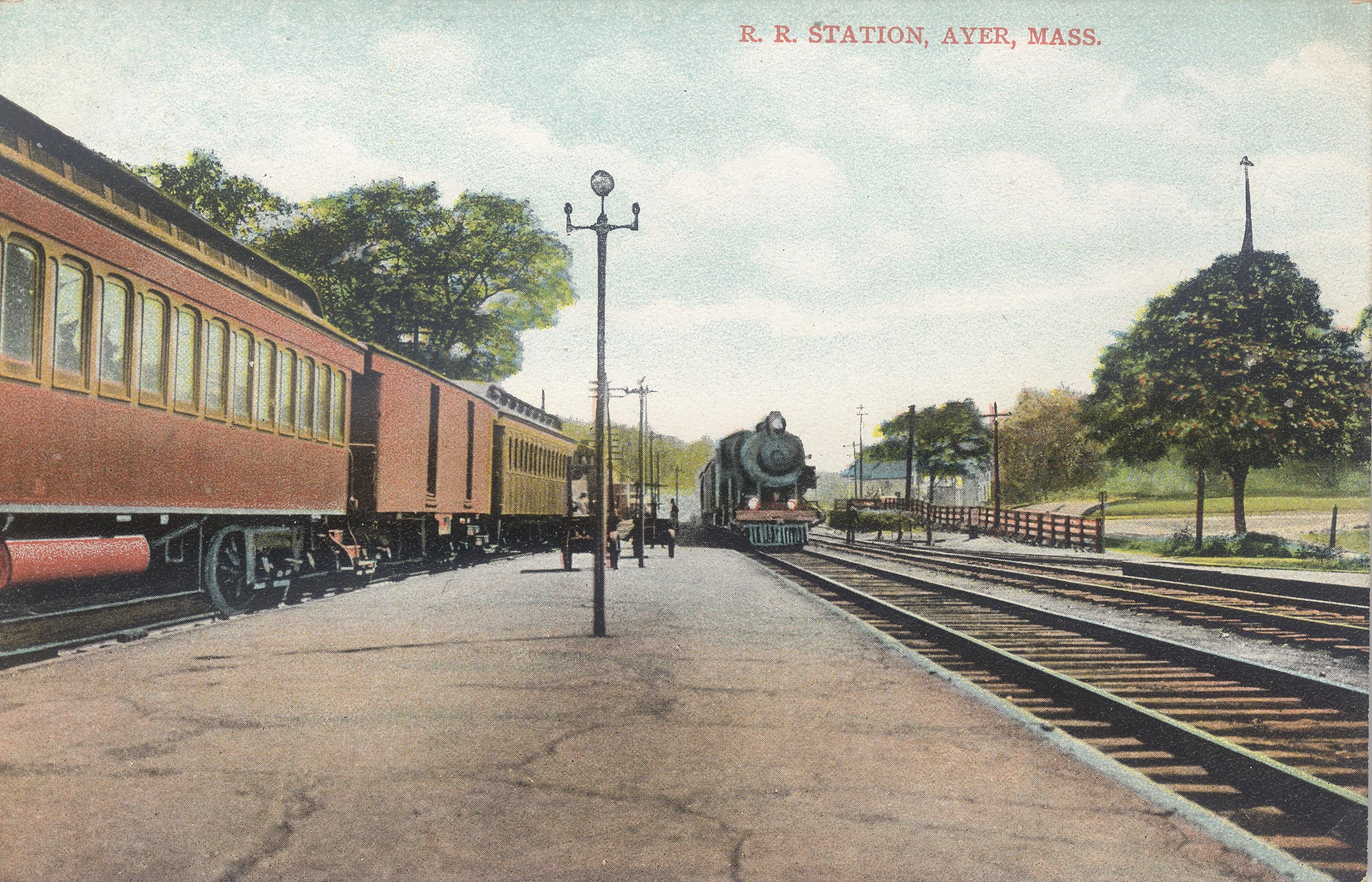 Station at Ayer, Mass.
