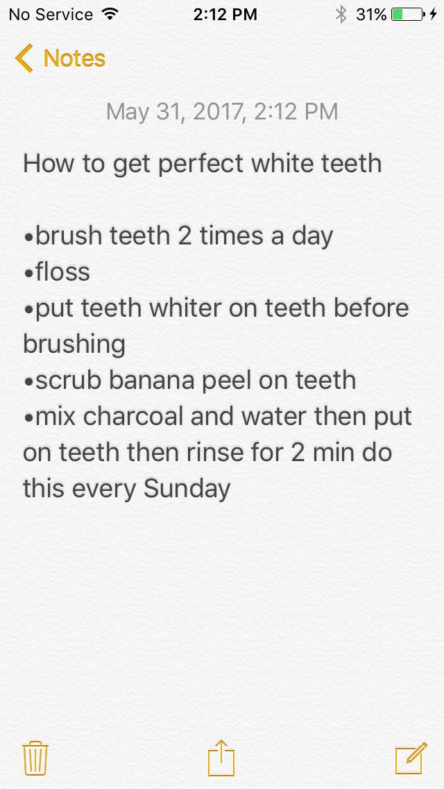 Part 3•teeth Glow up