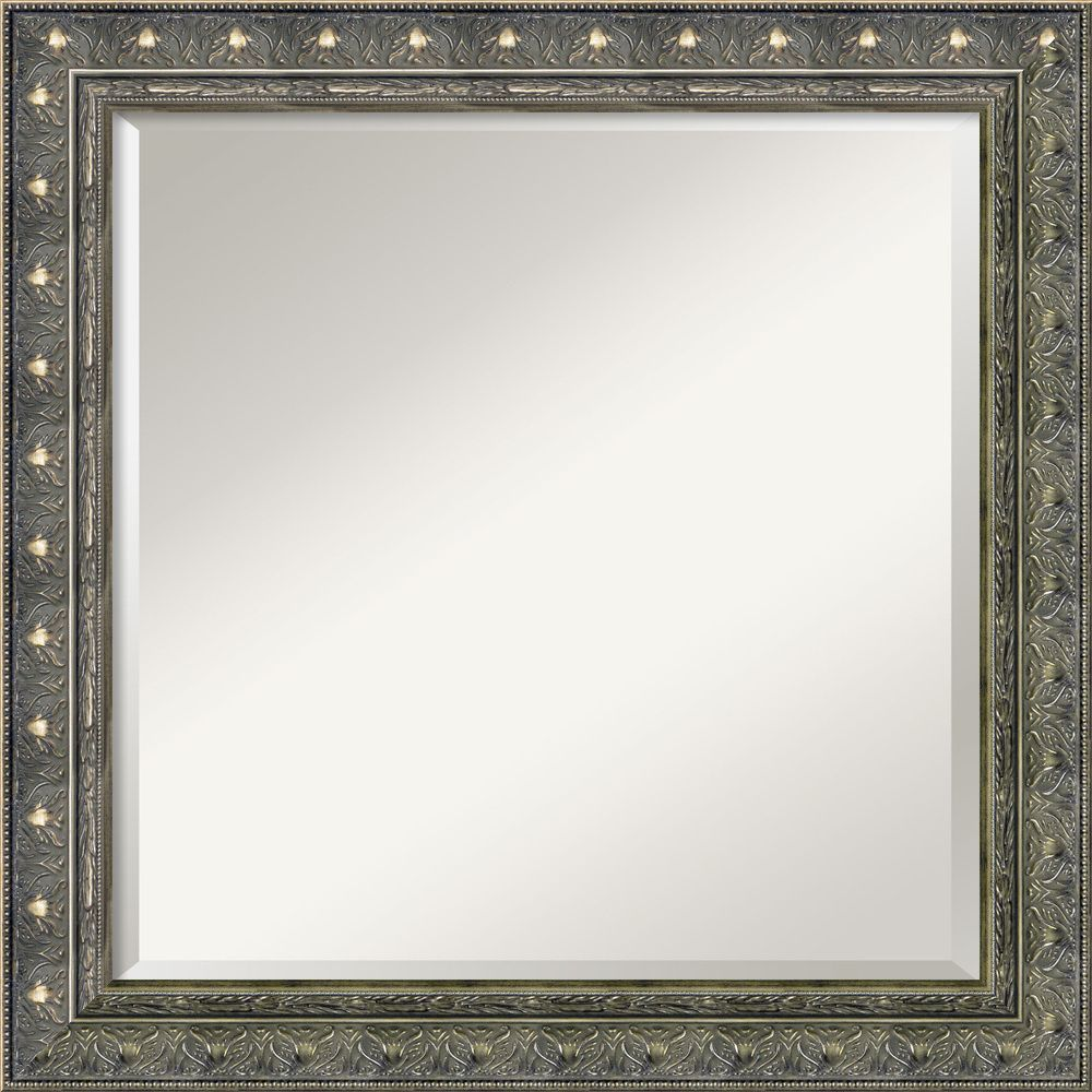 Barcelona pewter square wall mirror overstock shopping the barcelona pewter square wall mirror overstock shopping the best deals on mirrors amipublicfo Choice Image