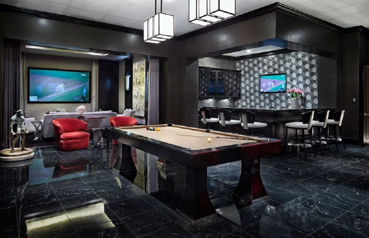 10 Must Have Items For The Ultimate Man Cave House Design Home Luxury Living Room