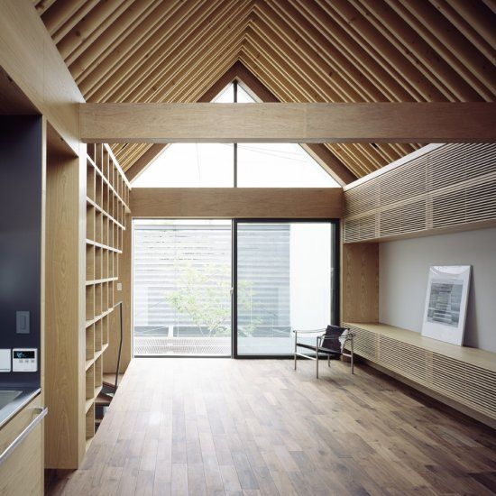 Ark Is A Minimalist Residence Located In Tokyo Japan
