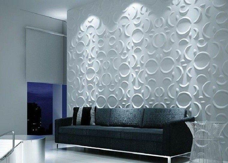 Revestimiento de paredes interiores, creatividad y estilo ...