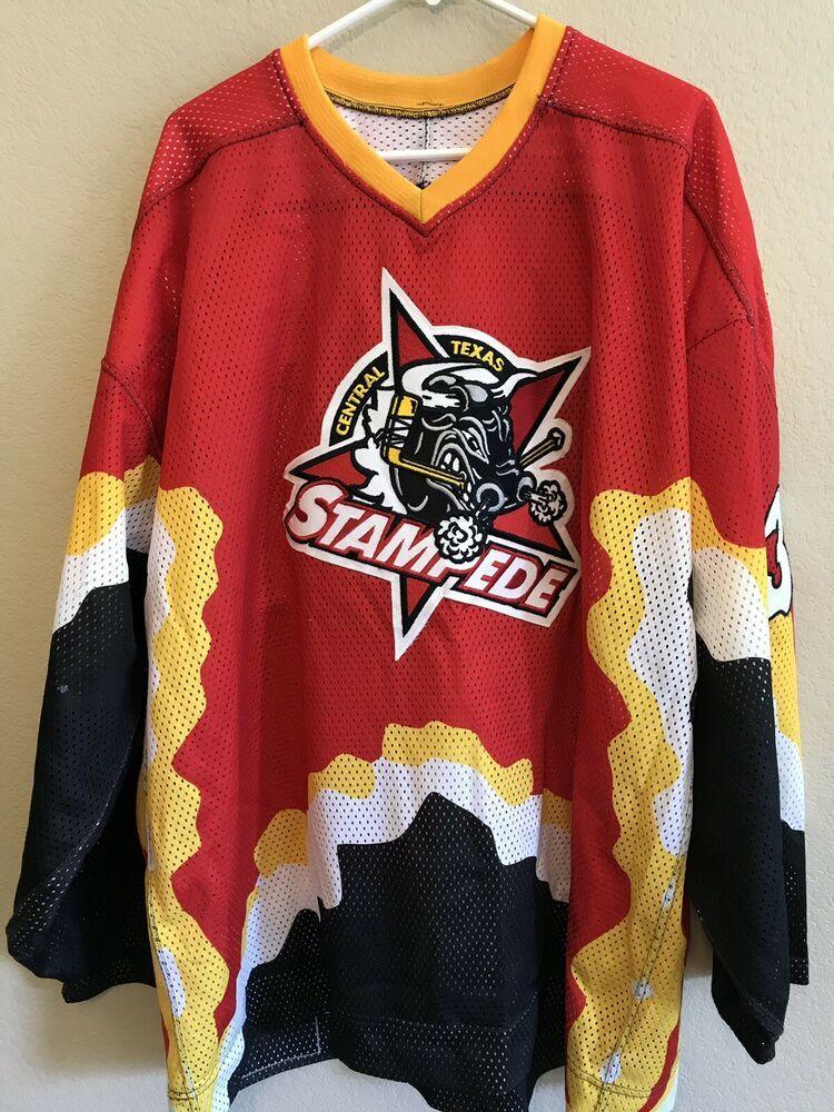 Central Texas Stampede Men's Size 58 Jersey WPHL Hockey