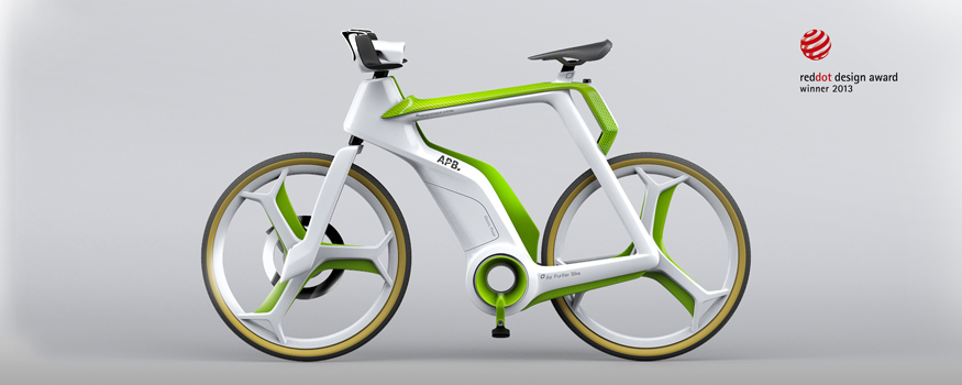 The AIRPURIFYING BIKE concept LIGHTFOG REDDOT Air