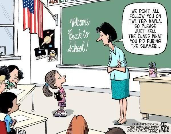 Our Children Are Also Social Media Mavens School Humor Teacher Humor Kids Reading