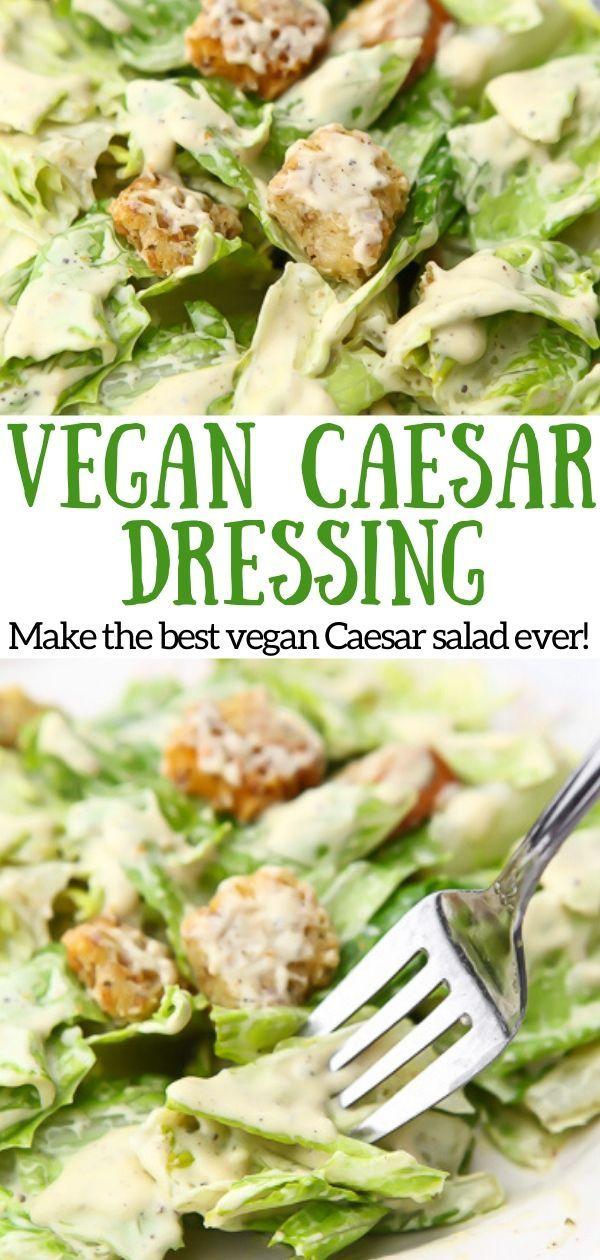 The BEST Vegan Caesar Salad Ever!