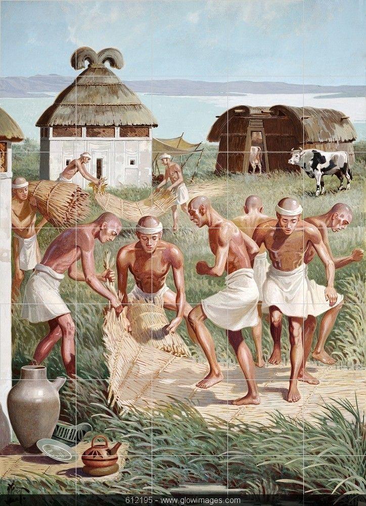 Mesopotamian village Mesopotamian village Uruk Sumer Mesopotamia