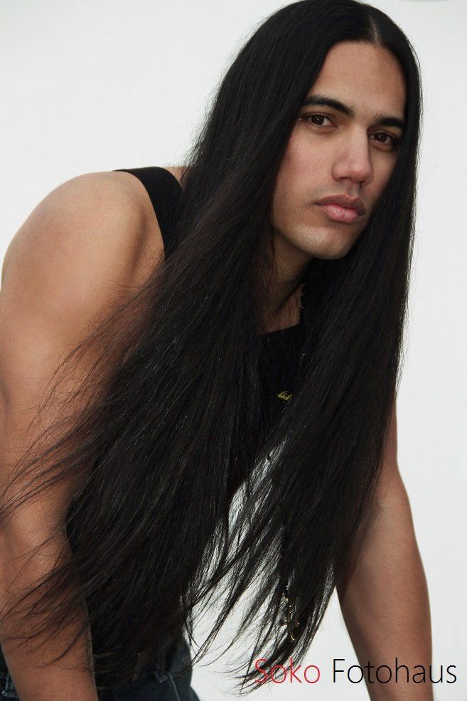 Aboriginal Ojibwe Male Model Will Rayne Strongheart For
