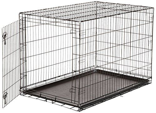 Amazonbasics Single Door Folding Metal Dog Crate 48 Inc Https