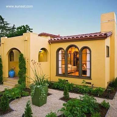 Fachadas de casas pintadas de color naranja pesquisa - Fachadas de casas pintadas ...