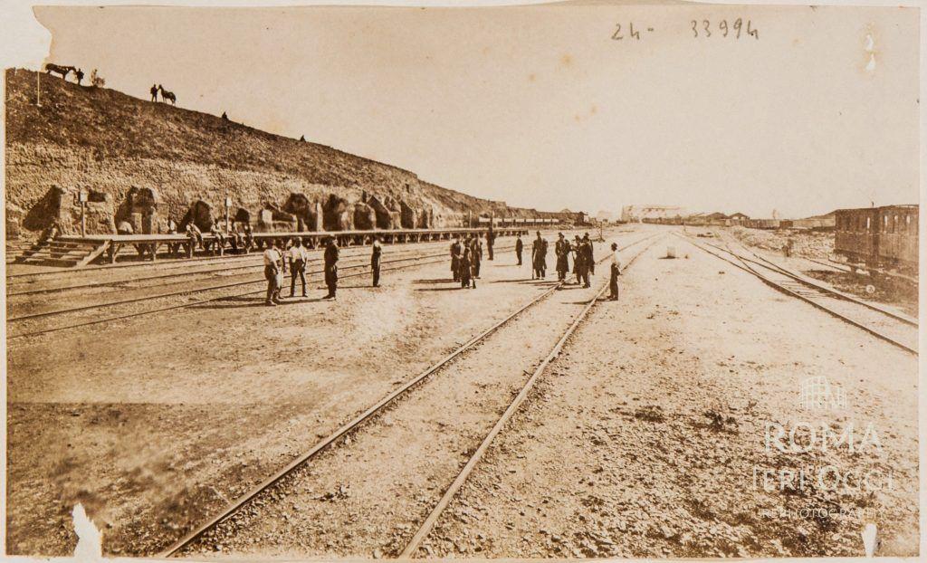Ferrovia Termini (1862) Altra bellissima foto sui binari