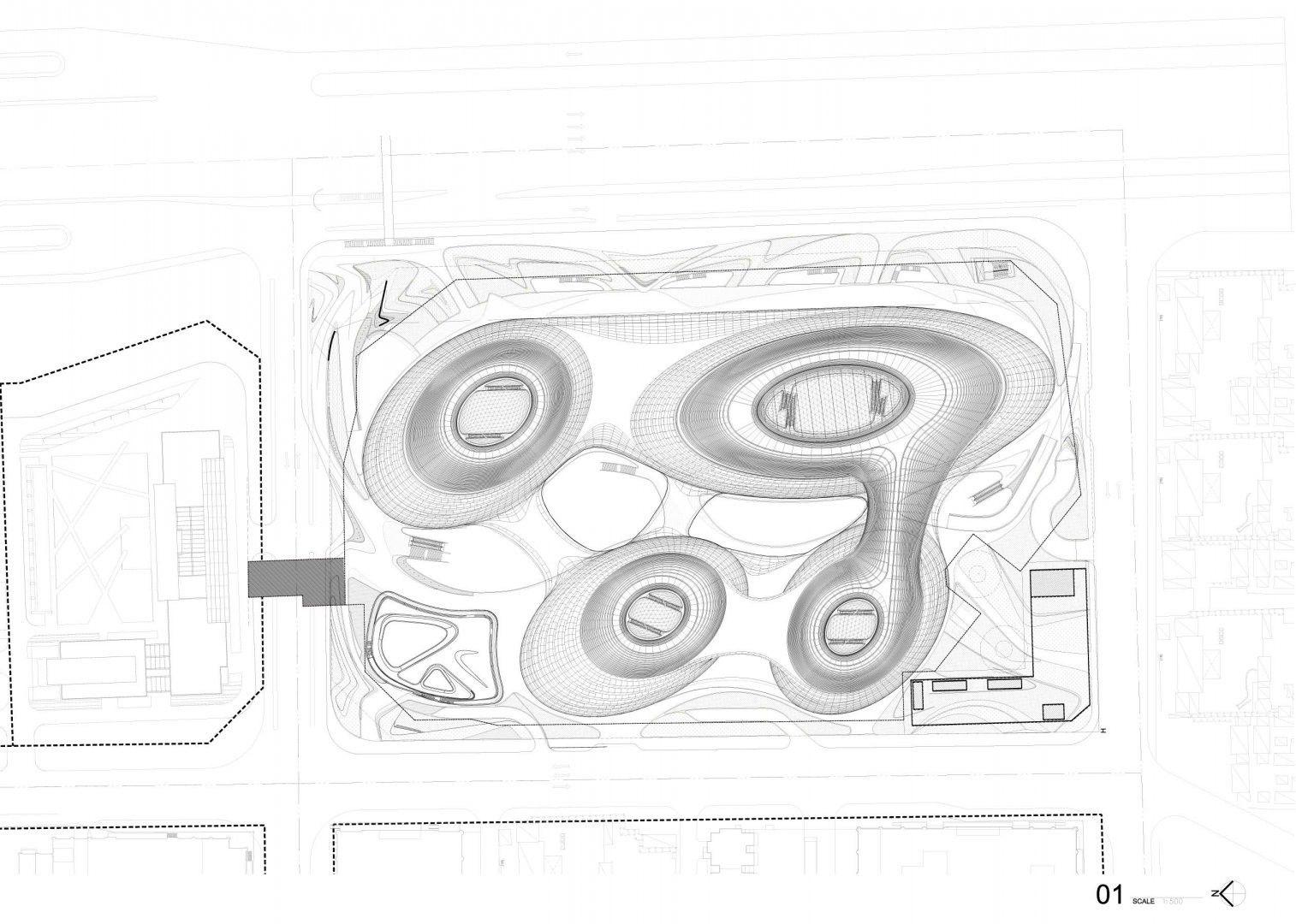Gallery Of Galaxy Soho Zaha Hadid Architects 19 Zaha Hadid Zaha Hadid Architecture Zaha