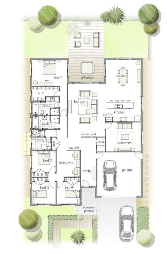 Floor Plan House Layouts Home Design Plans House Design