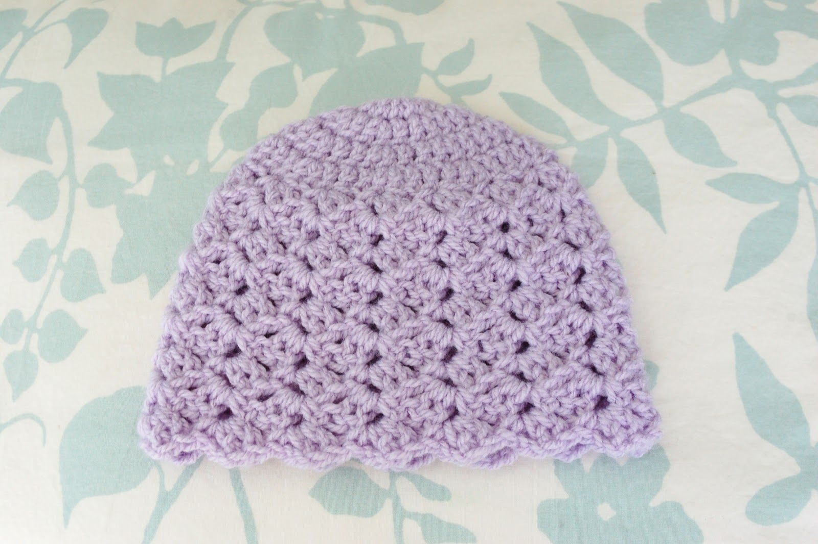 crochet baby hats patterns | dc double crochet sc single crochet sl ...