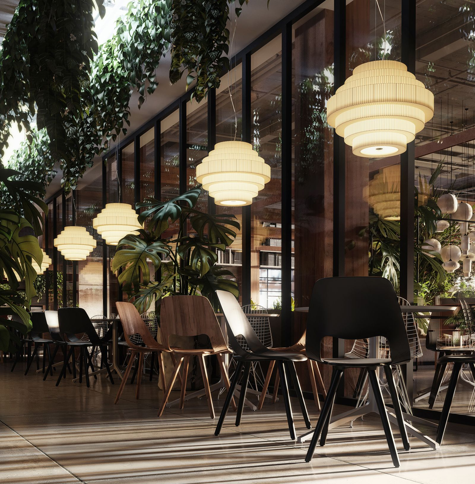 MOS was chosen by S&T Architects for this restaurant The Forest